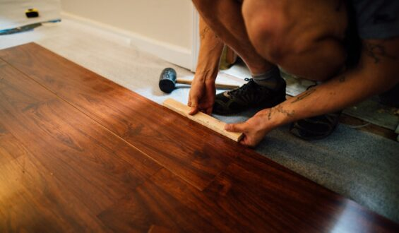 What is the purpose of insulation paper under Parquet floorings?