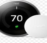 How to install the Google nest temperature sensor ?